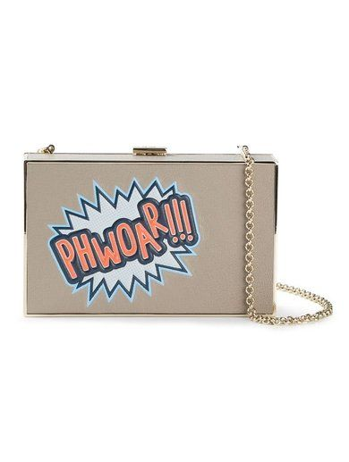 Anya Hindmarch 'Imperial Woof' Clutch