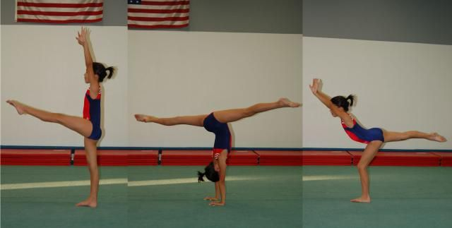 How to Do a Back Walkover in Gymnastics: Back Walkover By Yourself