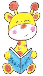 jirafa bebe dibujo - Buscar con Google