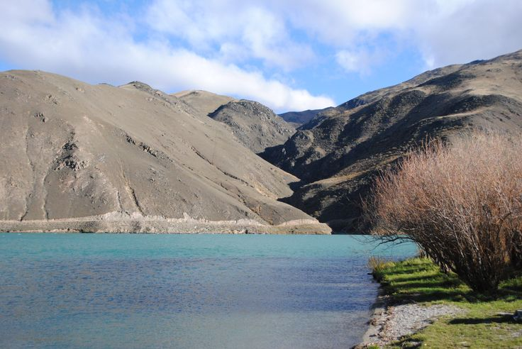 Central Otago / Blue lake / New Zealand / Southern island