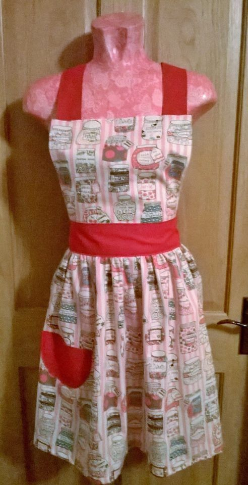 Sweetie Jars apron