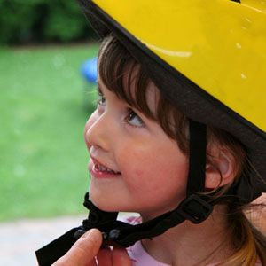 Childrens Bike Helmets - Bicycle Helmet Safety - How to get a proper helmet fit