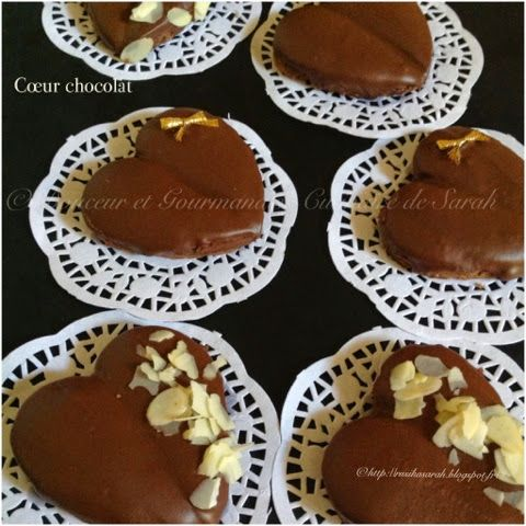 Cœur au chocolat | Délice et gourmandise recettes algériennes