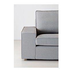 IKEA - KIVIK, Canapé 2 places, Orrsta gris clair, , KIVIK est une série de canapés spacieux avec une assise profonde,  moelleuse et confortable, offrant un bon soutien à votre dos.Coussins d'assise avec une couche supérieure en mousse viscoélastique à mémoire de forme. Suivent les contours du corps et reprennent leur forme quand on se lève.Grâce aux accoudoirs amovibles, le canapé se complète simplement par une ou plusieurs méridiennes.La housse est facile à entretenir car elle est…