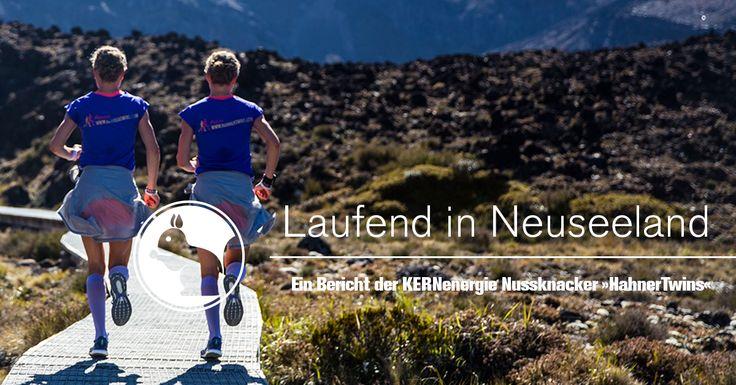 Begleitet exklusiv die Hahner-Zwillinge und Thomas Dold, unsere KERNenergie-Nussknacker, auf Ihrer Lauf-Reise.