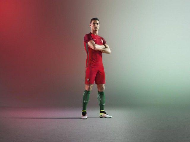 Camisas de Portugal 2016-2017 Nike CR7