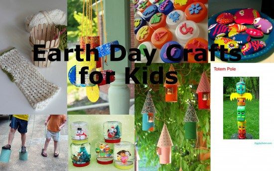 8 More Earth Day Crafts for Kids