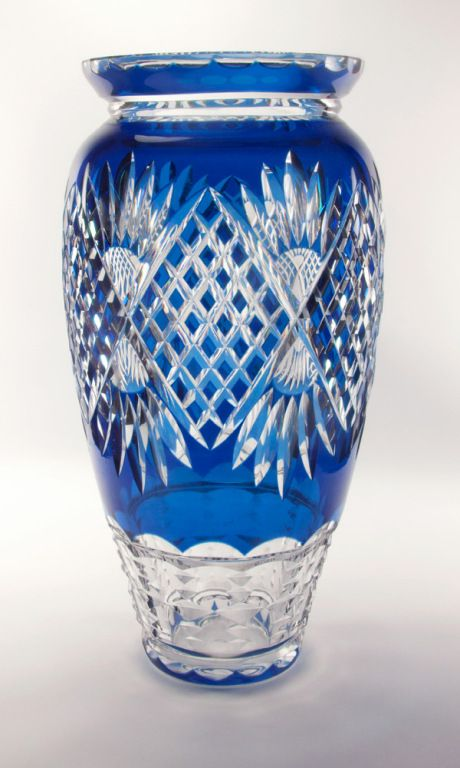 17 Best Images About Vintage Cut Glass Crystal On Pinterest Glass Vase Bohemian And Glasses