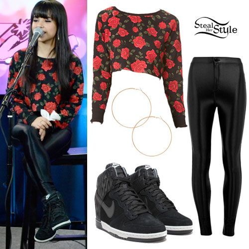 becky g steal her style   Becky G at Kiss 108 FM in Boston, MA on March 7, 2014 – photo ...