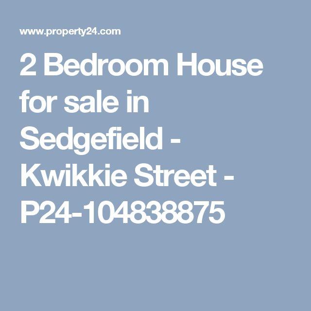 2 Bedroom House for sale in Sedgefield - Kwikkie Street - P24-104838875