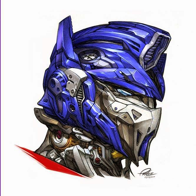 Optimus Prime by Pat Lee