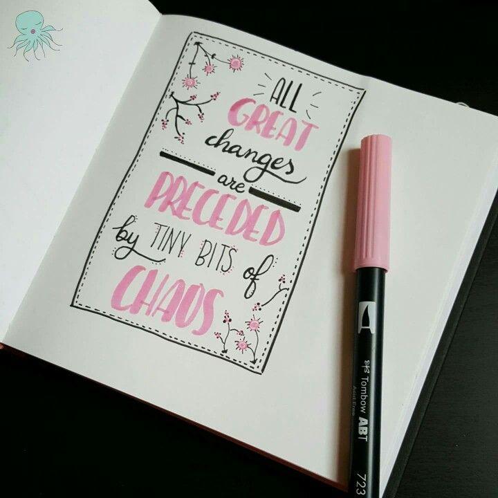 Keep moving!! #changes #lettering #inspirationalquote #quotes  #amytangerine #fangerine #silviadeleonhandmade