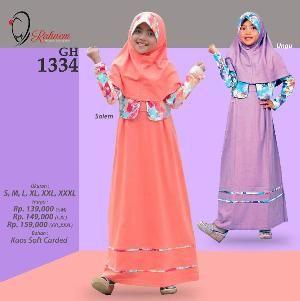 Baju Gamis Anak Rahnem GH1334 - Promo Ramadhan Sale