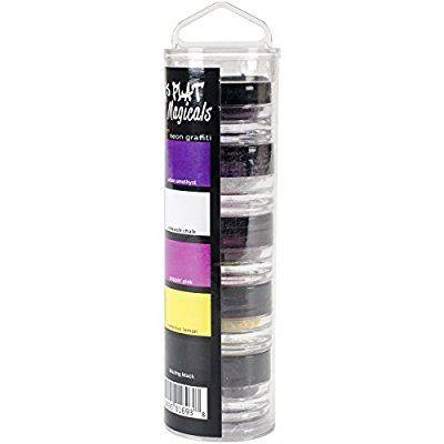 Lindy Tampon de Lindy de tampon Plat magicals .25oz 5/Pkg-Neon Graffiti, d'autres, multicolore