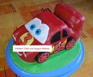 Cars, Mc Queen en 3D