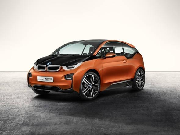 BMW i3, um dos carros verdes que chamou a atenção no salão de Detroit 2013