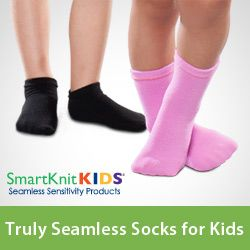 Kids Seamless Sensitivity Socks - 6 Pack - SmartKnitKIDS - Collection
