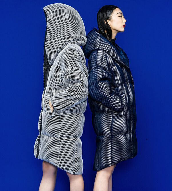 Futuristic Design Womens Hooded Down Coat Loose Cocoon Warm Parka Down Jacket #unbranded #BasicCoat