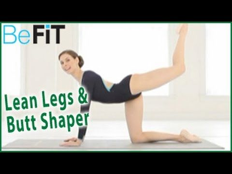Ballet Beautiful: Lean Legs and Butt Shaper Workout- Mary Helen Bowers - YouTube