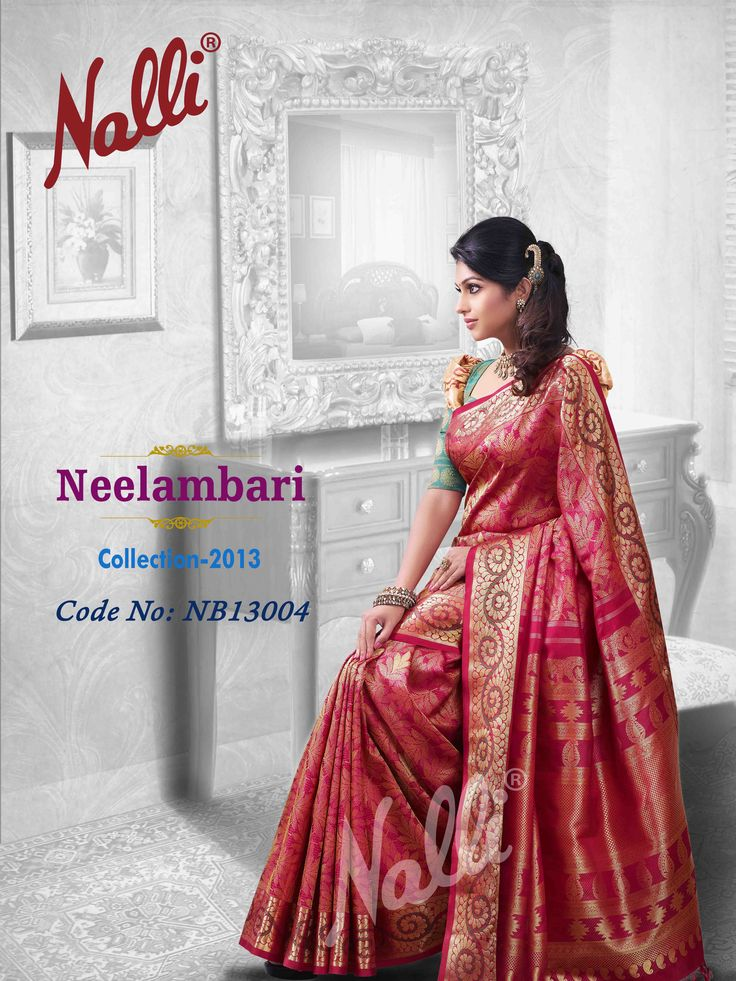 Product Code NB13004 - Drape yourself in silky shades of Maroon - the colour of the extroverted and uninhibited, combining the energy of red with the cheerfulness of yellow.