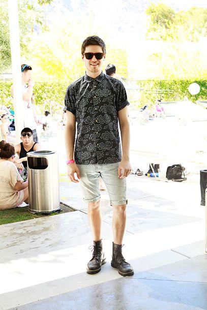 Street Style From Coachella Pool Party Edition Coachella