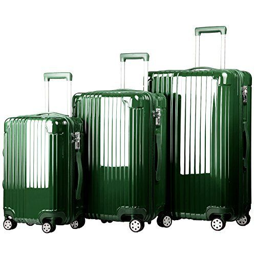 New Trending Luggage: Merax Dawnrise ABS PC 3 Piece Luggage Set with TSA Lock and Dual Spinner Wheels (Green). Merax Dawnrise ABS PC 3 Piece Luggage Set with TSA Lock and Dual Spinner Wheels (Green)  Special Offer: $109.99  311 Reviews REMOVE the protective film on the luggage before use from the bottom part of the luggage. Instructions to remove the protective film:...
