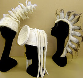 headpieces, Jeanette Sendler