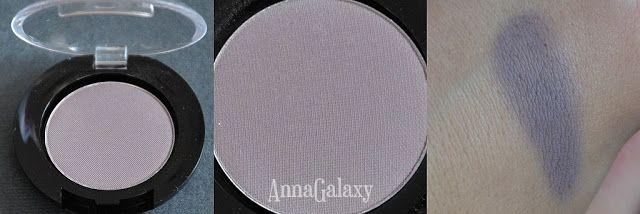 Anna Galaxy: El Corazon тени для век матовые №№ 207, 208, 229 - обзор + макияж