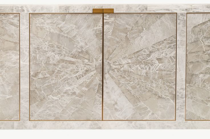 Atelier Viollet's New Masterpiece: A Sideboard in Gypsum & Bronze | Atelier Viollet BlogAtelier Viollet's New Sideboard in Starburst Gypsum