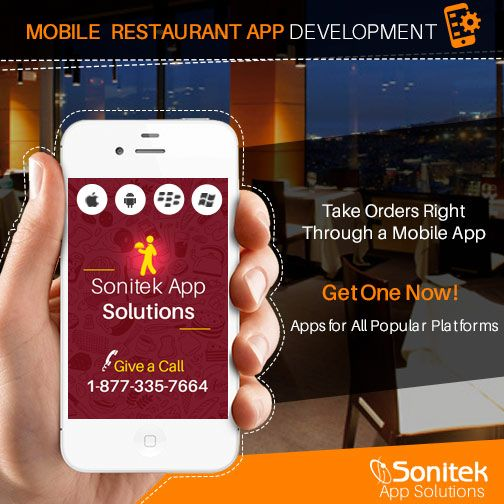 Turn your #Restaurant's status higher with your best and excellent #RestaurantApps http://www.sonitekapps.com/restaurants-mobile-app.php