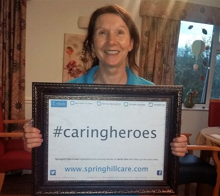 Lorraine - Riversway's Caring Hero - Springhill Care Group Lancashire