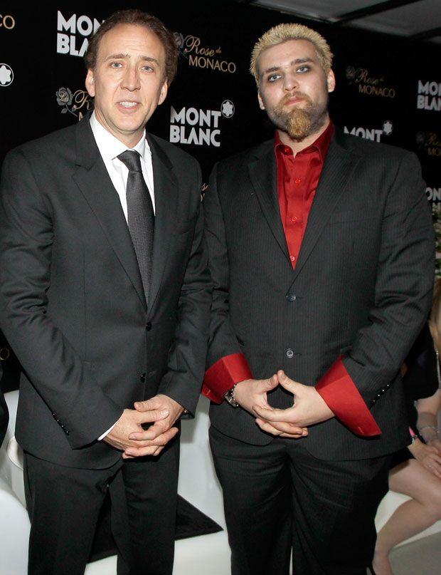 Nic Cage & son Weston