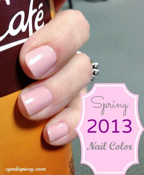 Spring 2013 Nail color
