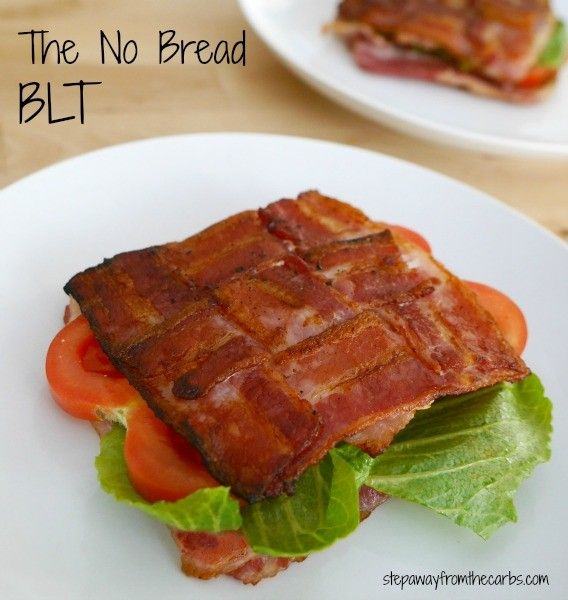 The No Bread BLT - low carb perfection! (Low Carb Breakfast)