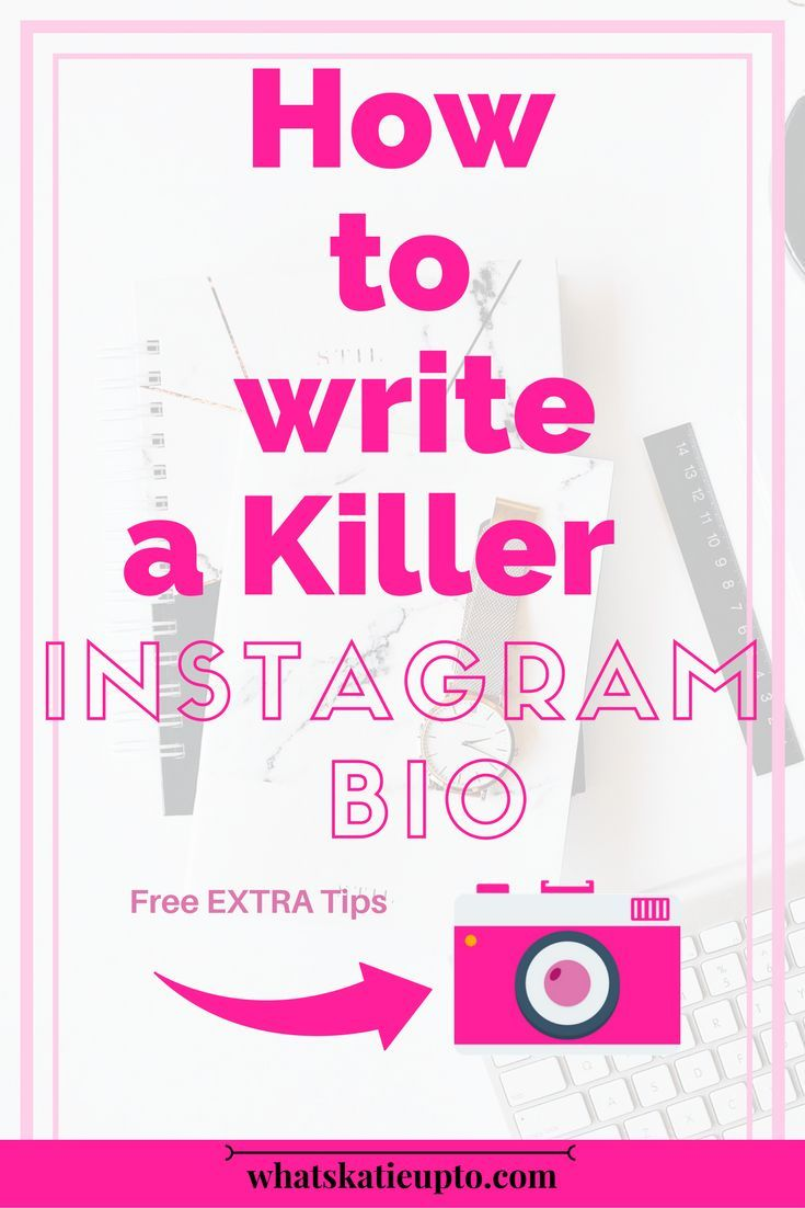 How to write a killer Instagram Bio || instagram, insta, insta bio, || #insta #instagram #feed #bio