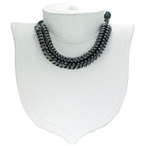 Giles & Brother - Braided Ring Necklace