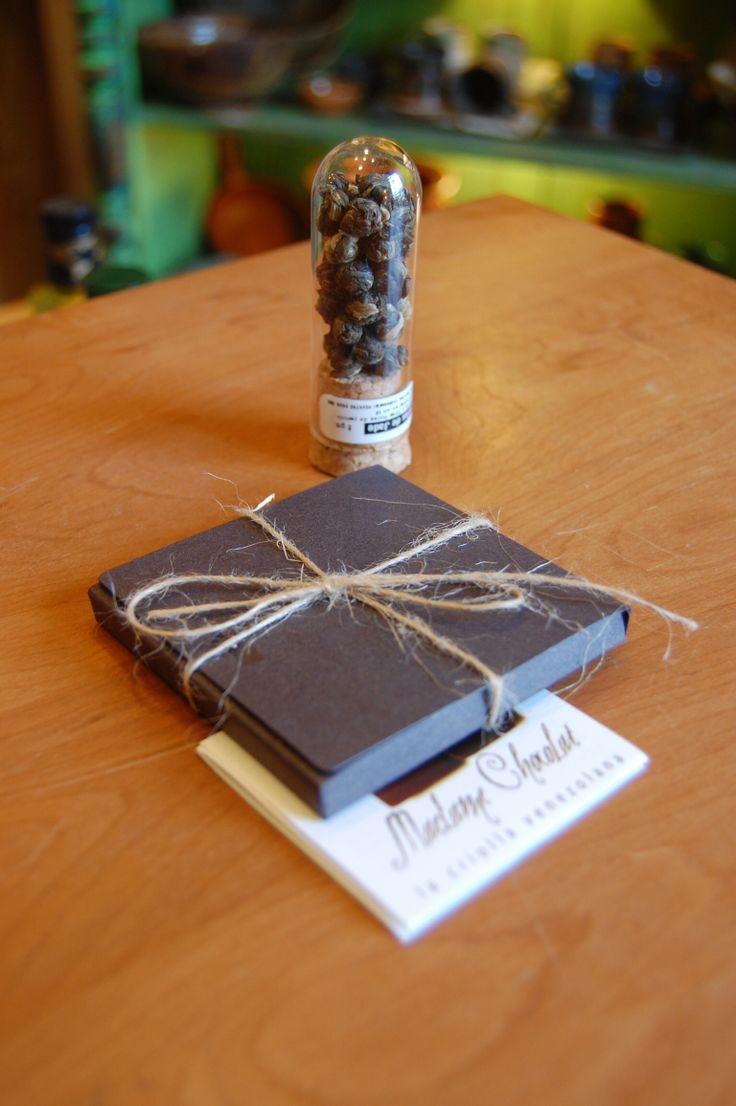 Cata de te con chocolate