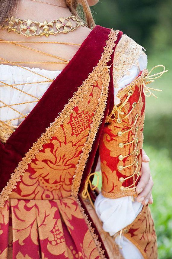 FREE SHIPPING italienischen Renaissance Kostüm von DressArtMystery
