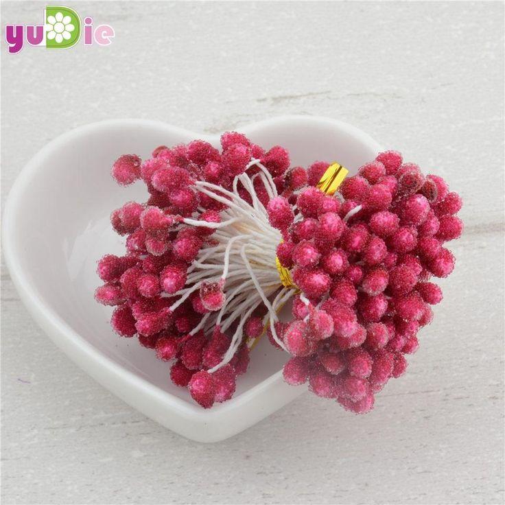 1000PCS/lot wholesale multicolor DIY 5 mm foam flower stamen pistil stamen cake decoration and DIY
