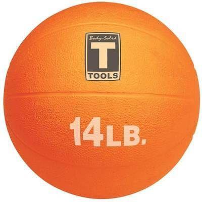 Medicine Weighted Balls 137861: 14 Pound Textured Orange Medicine Ball [Id 23695] -> BUY IT NOW ONLY: $81.35 on eBay!