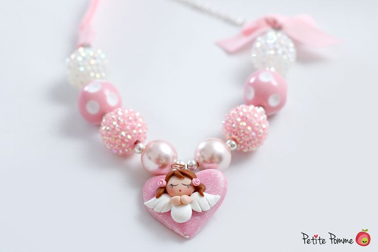 Collar de Angel http://www.petitepomme.cr/producto/collar-angel-de-la-guarda/