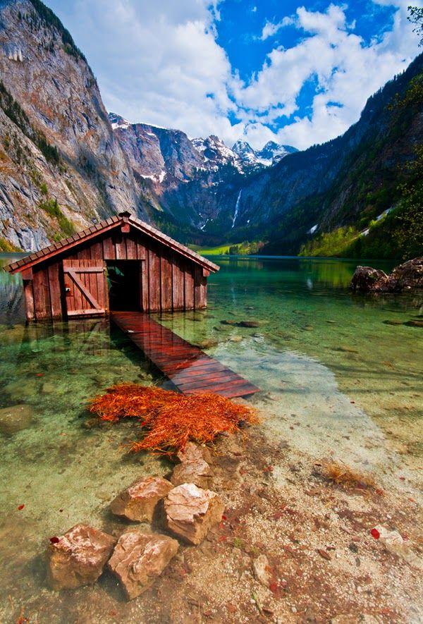 Obersee Lake, Bavaria Germany