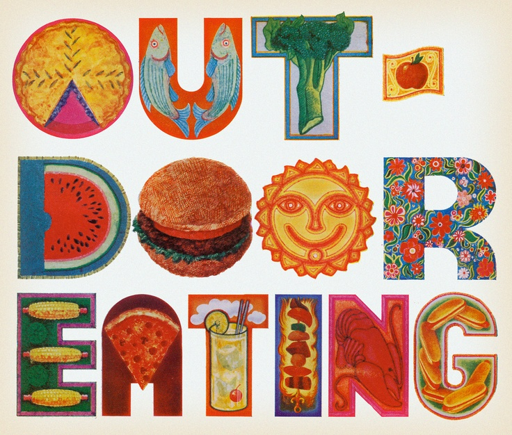 Outdoor Eating, 1970 | Flickr - Photo Sharing!