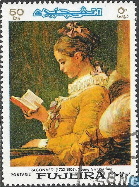 Postage Stamps - Fujeira - Paintings