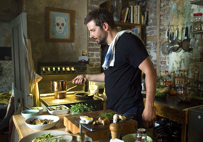 Burnt Movie - Face it, you'd forgive and forget anything that Bradley Cooper may have done going through a Bad Boy phase.  Especially a cooking Cooper!