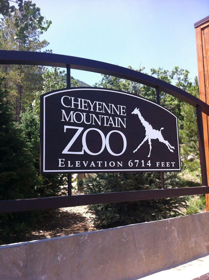 Cheyenne Mountain Zoo in Colorado Springs, CO USA