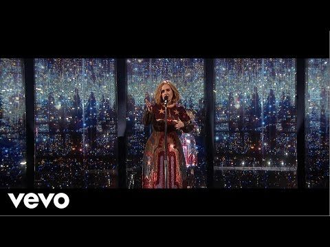Adele at Madison Square Garden | Violet Roots™ http://www.violetroots.com/adele-madison-square-garden/