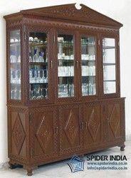 Carved Cabinets, teak wood hand carved kitchen cabinet,
