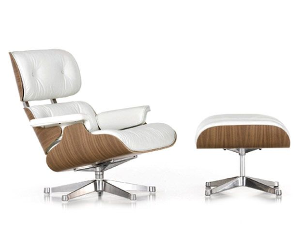 Eames Lounge chair - wit - Charles & Ray Eames - Vitra (1)