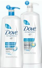 Dove shampoo with salon pump = Hair Heaven!! <3